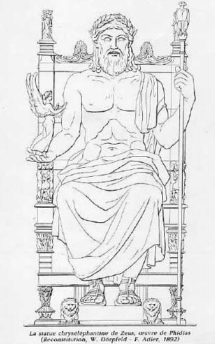 les dieux grecs et romains et leurs attributs
