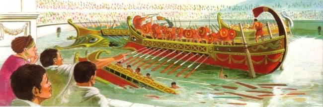 peuple romain en cinq lettre